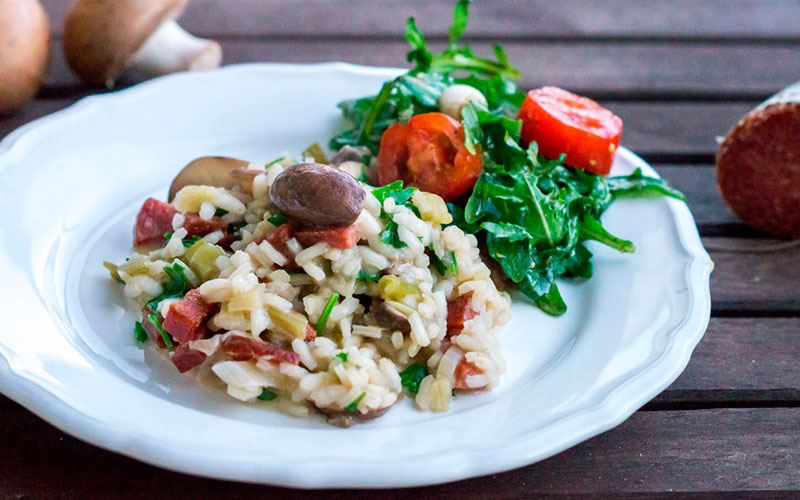 PICK`s Pilzrisotto