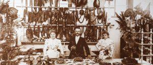 Mitarbeiter Verkauf PICK Salami früher