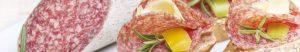 PICK Wintersalamischeiben mit Rosmarin und gelber Paprika