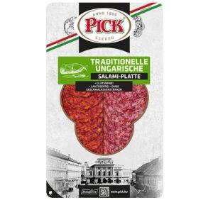 PICK Verpackung der traditionellen ungarischen Salamiplatte 70g