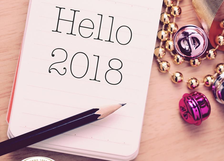 Wir wünschen ein gesundes und erfolgreiches Jahr 2018